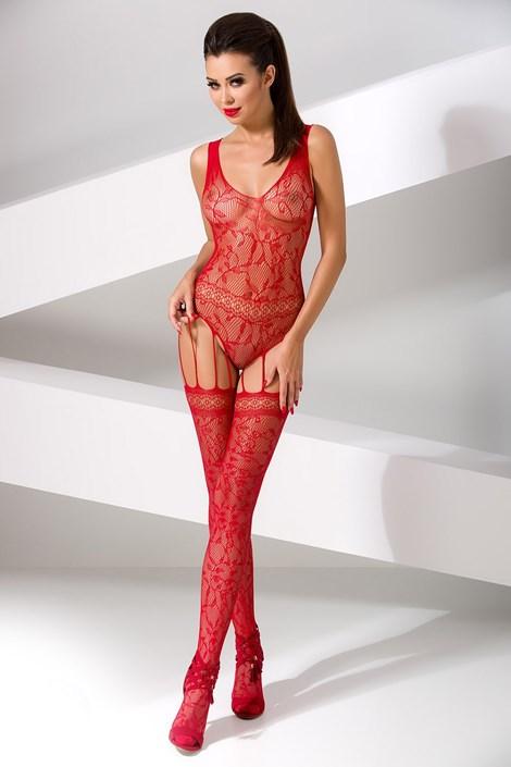 Erotic Line Bodystocking Lucille červená uni