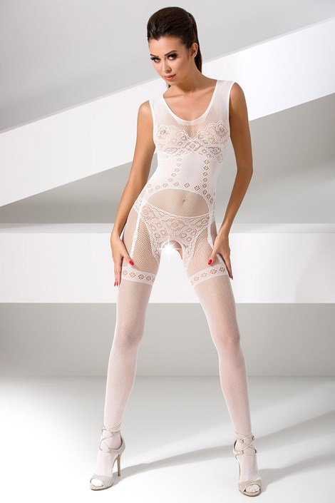 Erotic Line Bodystocking Zoe bílá uni