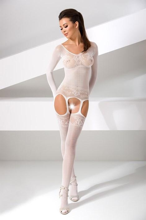 Erotic Line Bodystocking Carmen bílá uni