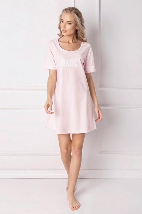 Aruelle Dámská noční košile Babe růžová XL