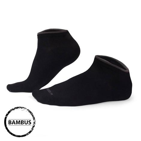 Henderson Bambusové ponožky Eloi nízké černé černá 43-46