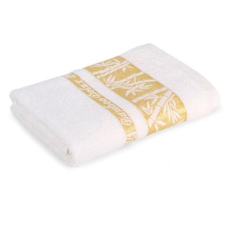 Sergen Tekstil Bambusový ručník Bowen krémová 50x90