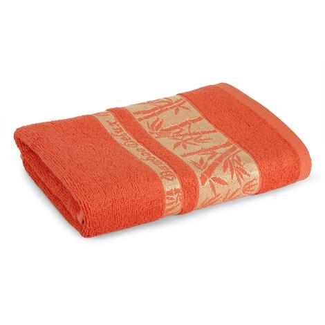Sergen Tekstil Bambusový ručník Bowen karamelová 50x90