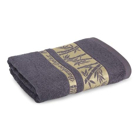 Sergen Tekstil Bambusová osuška Bowen šedá 70x140