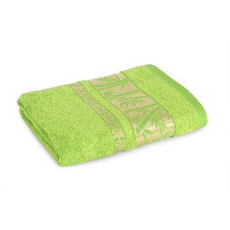 Sergen Tekstil Bambusová osuška Bowen světlezelená 70x140