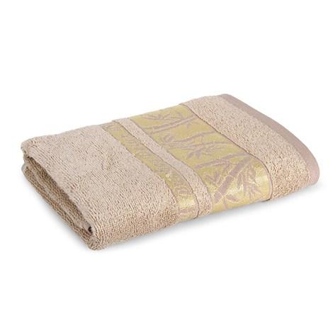 Sergen Tekstil Bambusová osuška Bowen světlehnědá 70x140