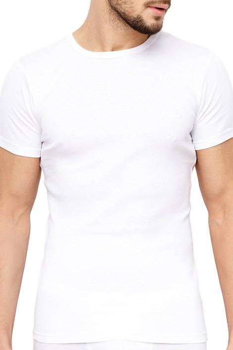 Rössli Pánské tričko ROSSLI Premium Cotton bílá XXL