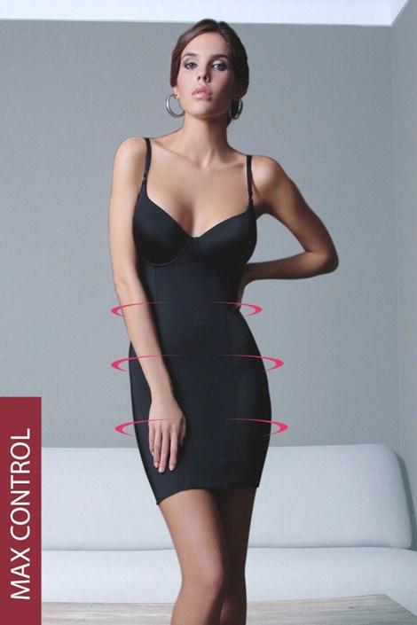 Sassa Stahovací šaty Carmen černá 75/D