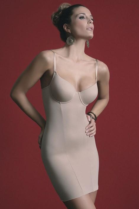 Sassa Stahovací šaty Carmen tělová 80/C