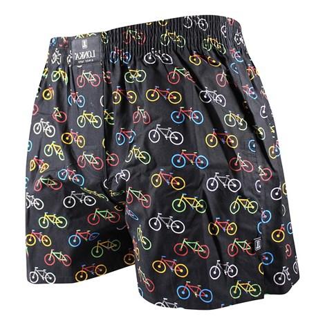 Lonka Pánské trenky LONKA Bike barevná M