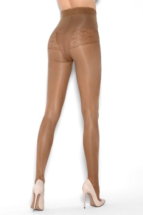 MONA Stahující punčochové kalhoty Bikini Support Riga 20 DEN nero 3