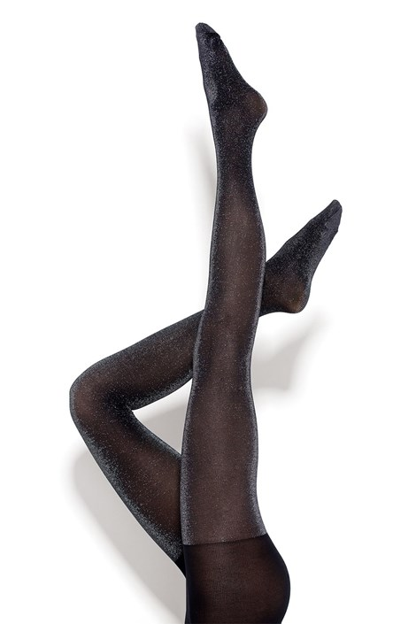 MONA Dámské punčochové kalhoty Bling Bling 40 DEN černá XL