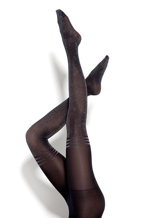 MONA Dámské punčochové kalhoty Bling Ring 50 DEN černá S