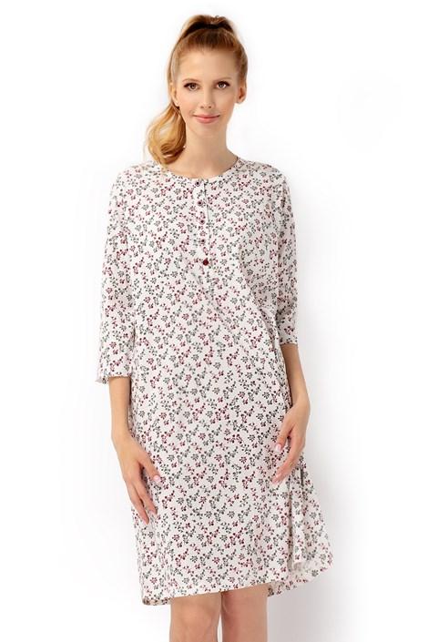 Envie Dámská noční košile Bloom vícebarevná XXL