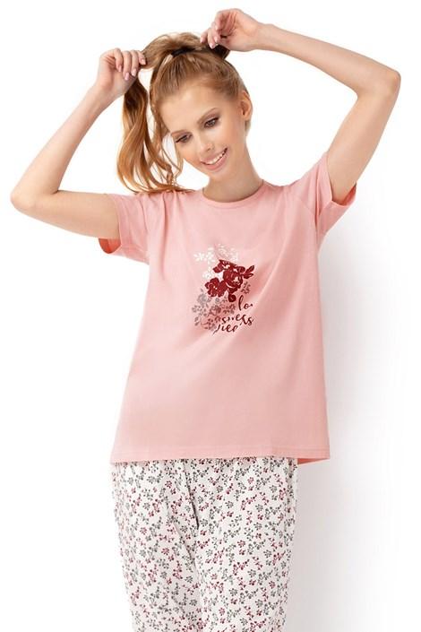 Envie Dámské pyžamo Bloom růžová XXL