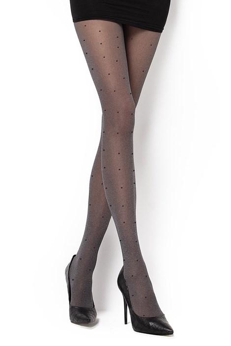 MONA Vzorované punčochové kalhoty Bonitta melange S