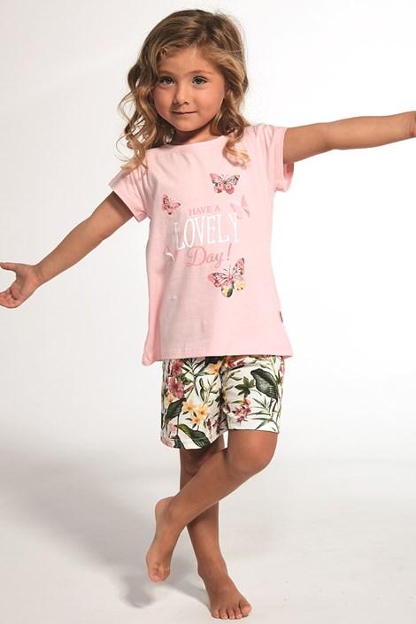 Cornette Dívčí pyžamo Butterfly barevná 146/152