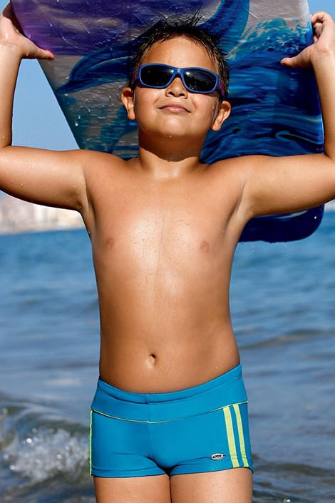 LORIN Chlapecké plavky Dennis CB4 modrá 122