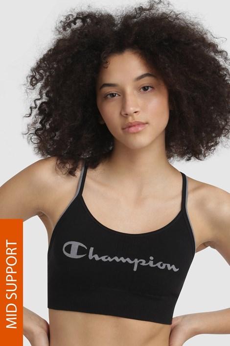Champion Sportovní podprsenka CHAMPION The Seamless Fashion černá XL