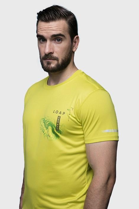 LOAP Žluté tričko LOAP Malty žlutá S