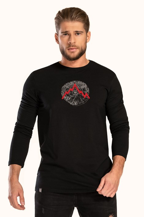 Černé tričko LOAP Albert
