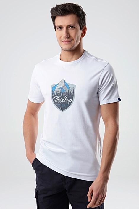 Bílé tričko LOAP Alesh
