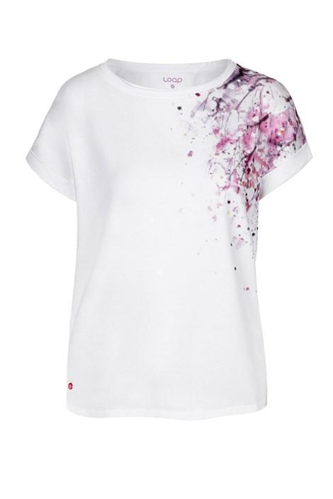 Tricou pentru femei LOAP Alyssa, alb