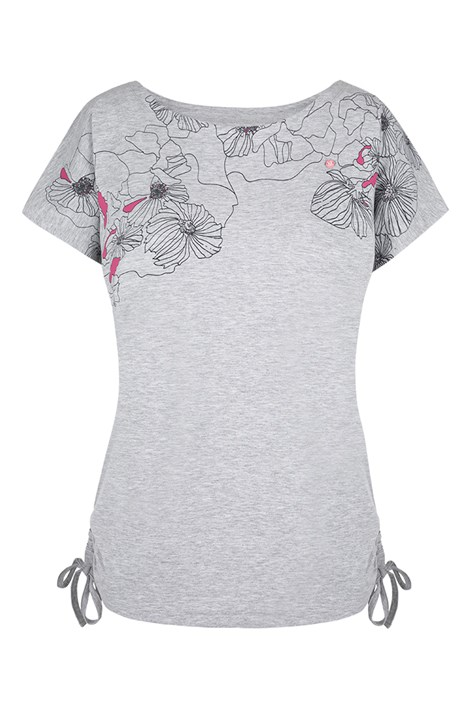 Dámské šedé tričko LOAP Adelie