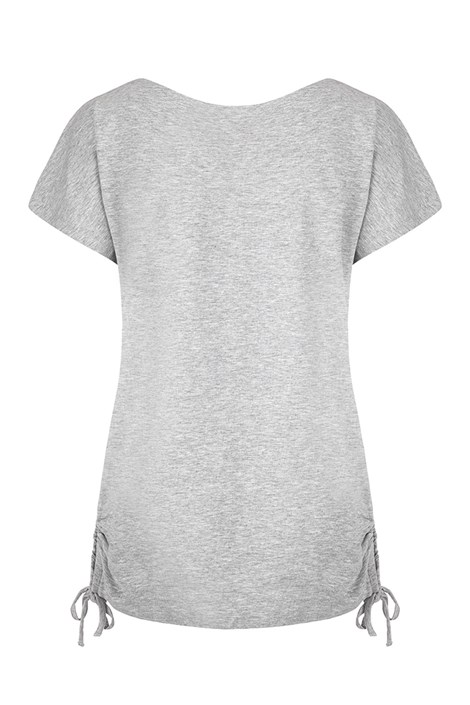 LOAP Dámské šedé tričko LOAP Adelie šedá L