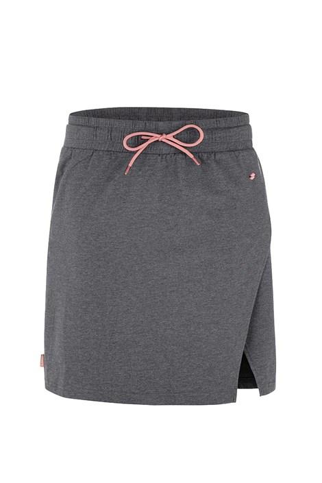 LOAP Dámská šedá sportovní sukně LOAP Adronis šedá XL
