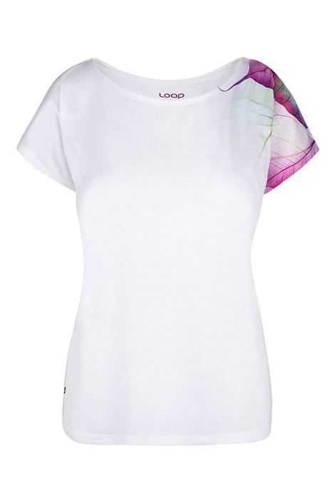 LOAP Dámské bílé triko LOAP Alexi bílá XS
