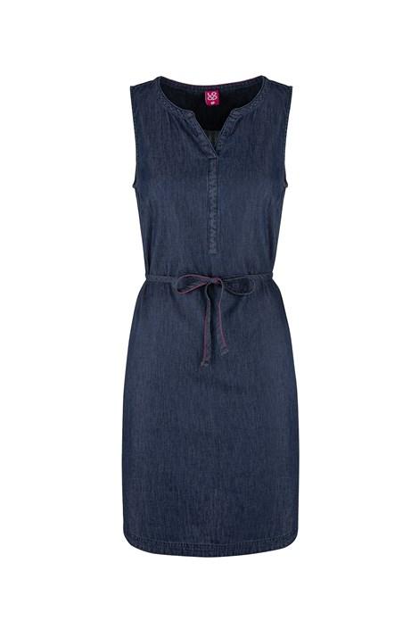 LOAP Dámské tmavě modré sportovní šaty LOAP Nermin modrá XS
