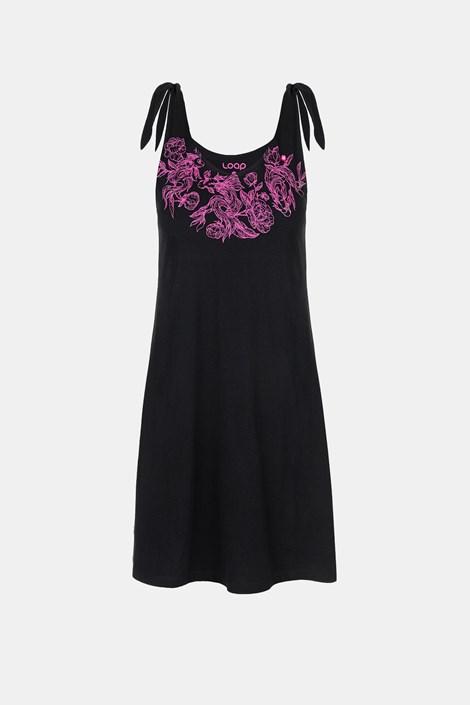 Dámské černé šaty LOAP Berunka