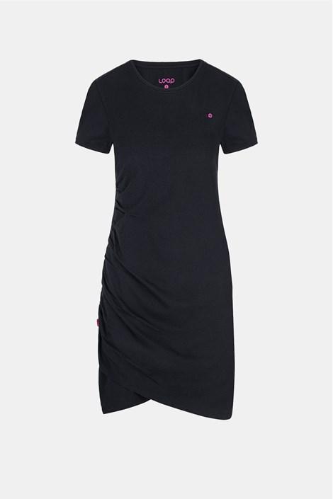 Dámské černé šaty LOAP Abjina