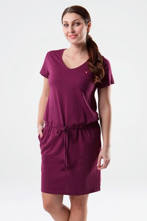 Dámské fialové šaty LOAP Blanka