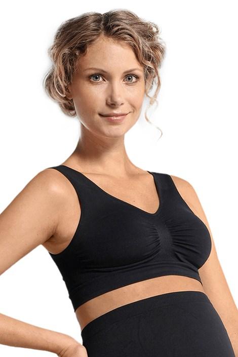 Carriwell Těhotenská podprsenka Stella černá S