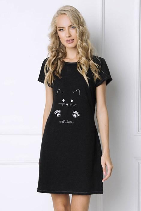 Aruelle Dámská noční košilka Cat Woman černá XL