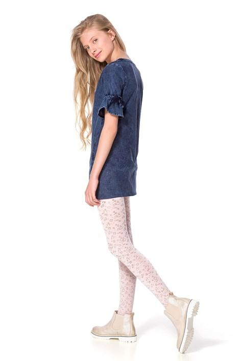 MONA Dívčí punčochové kalhoty Chloe bílá 140/146