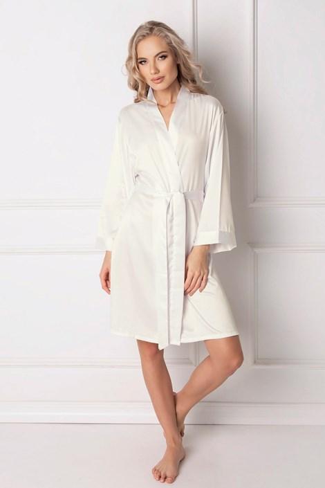 Aruelle Elegantní dámský župan Classy bílá XL