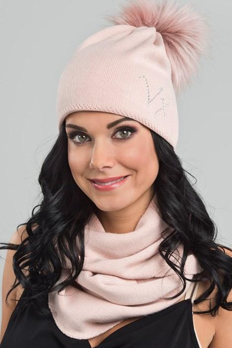 VOXX Dámská čepice Clio růžová uni