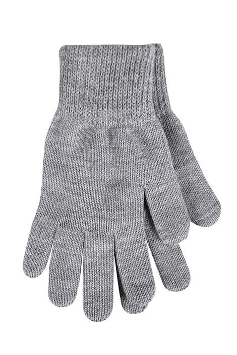 VOXX Dámské pletené rukavice Clio šedá uni