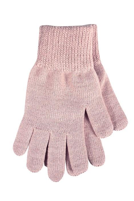 VOXX Dámské pletené rukavice Clio růžová uni