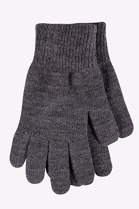 VOXX Dámské pletené rukavice Clio tmavěšedá uni