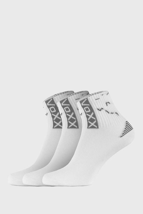 VOXX Univerzální sportovní ponožky Codex 3pak tmavěšedá 48-51