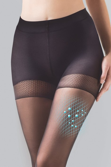 Gabriella Matné punčochové kalhoty Comfort Matt 20 DEN béžová 4
