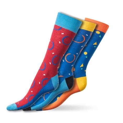 Bellinda Crazy ponožky Colourfull barevná 43-46
