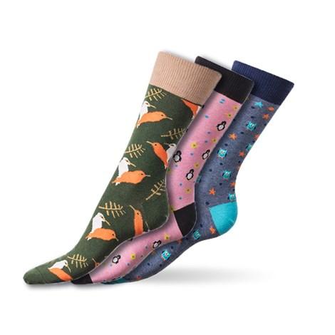 Bellinda Crazy ponožky Animal barevna 43-46