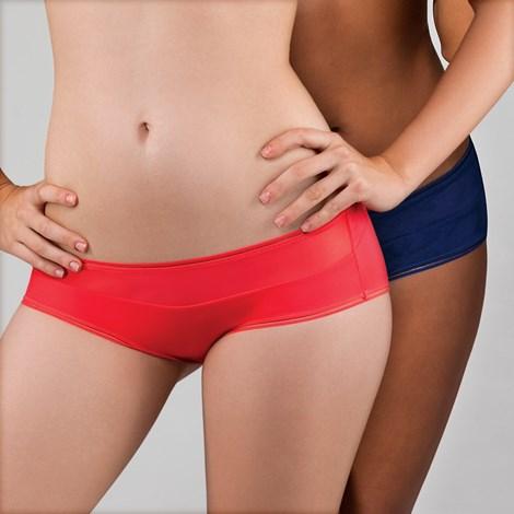 Dorina 2pack francouzských kalhotek Emma modročervená L 2d72cde3b8