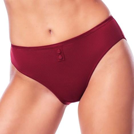 DIM Kalhotky DIM klasické červená S