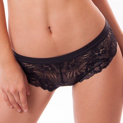 Dorina Kalhotky Fantastic francouzské černá XS